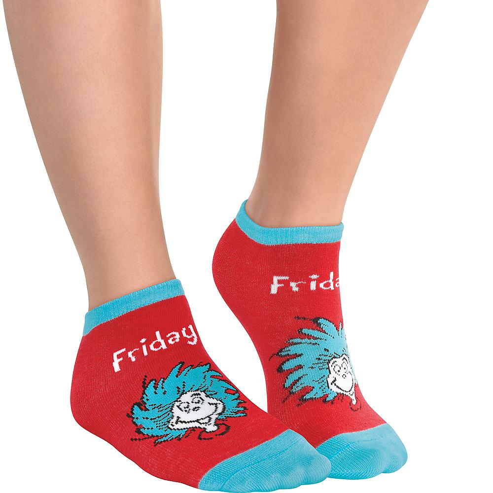 Child Dr. Seuss Socks 5ct Image #6