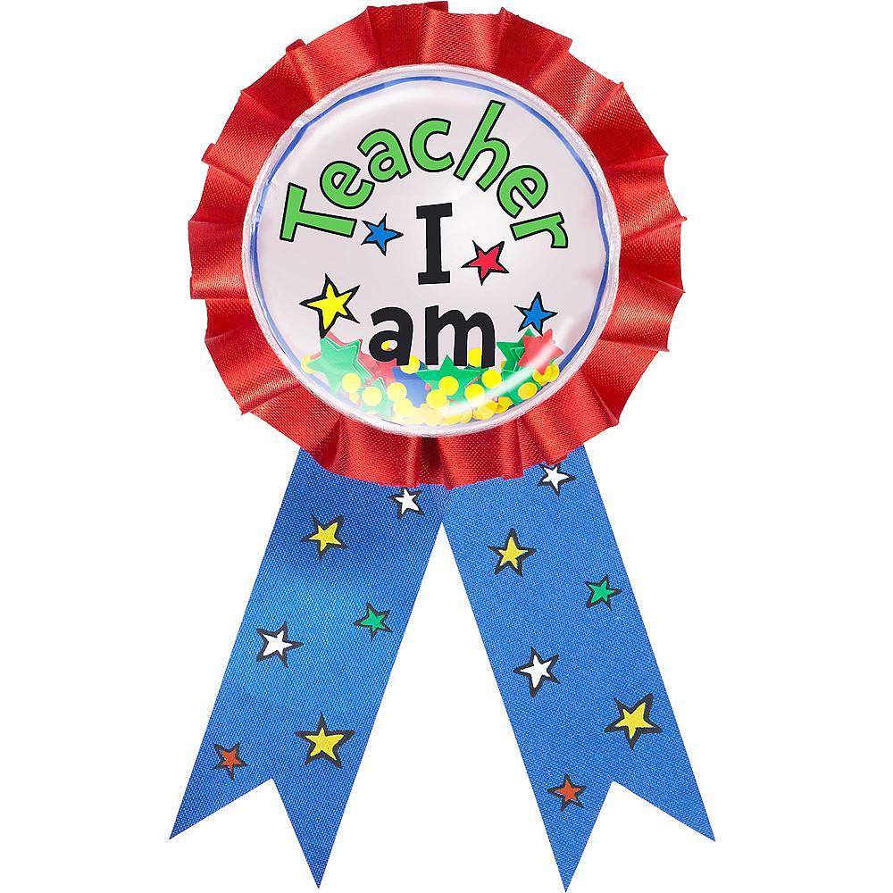 Teacher I Am Award Ribbon – Dr. Seuss Image #1