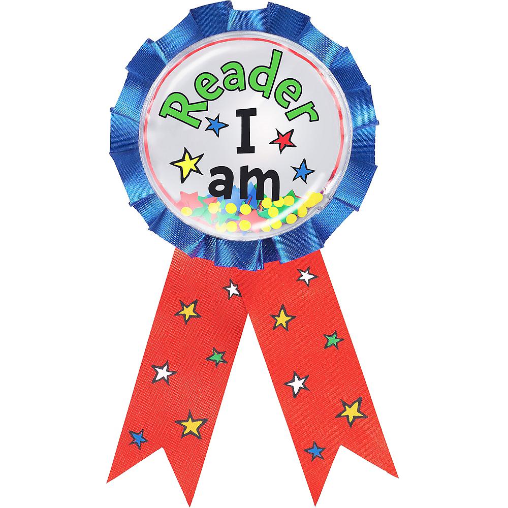 Reader I Am Award Ribbon – Dr. Seuss Image #1