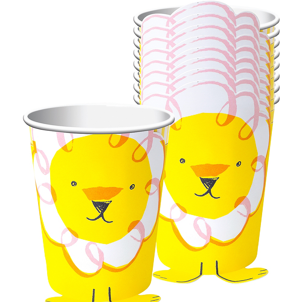 Circus Lion Cups 12ct Image #1