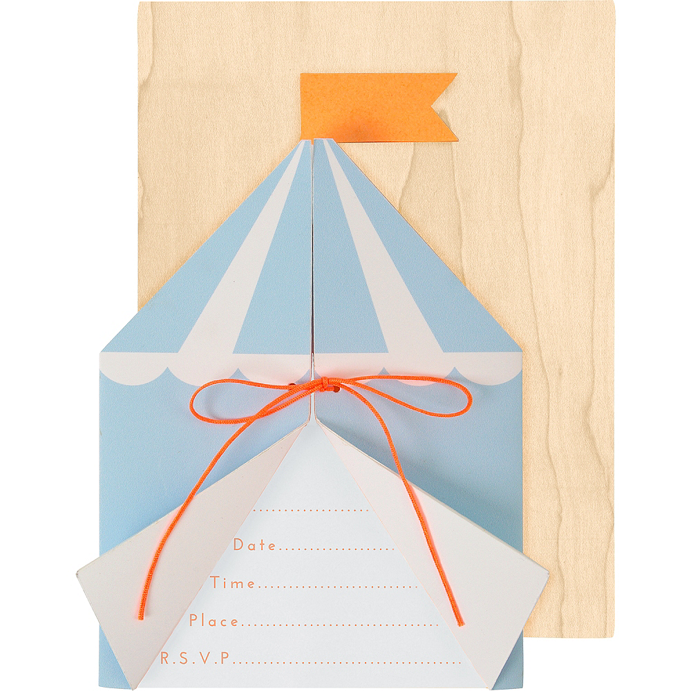 Silly Circus Invitations 8ct Image #1