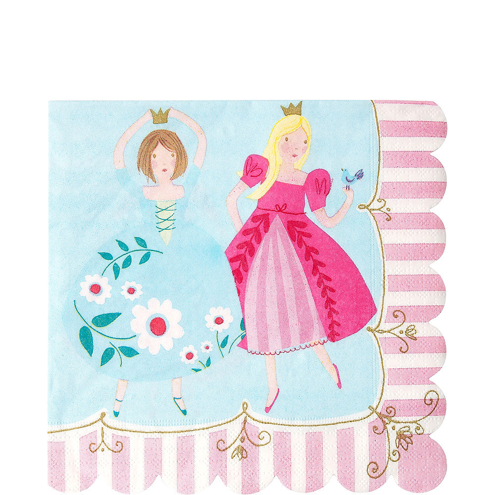 Pink Princess Lunch Napkins 20ct Image #1
