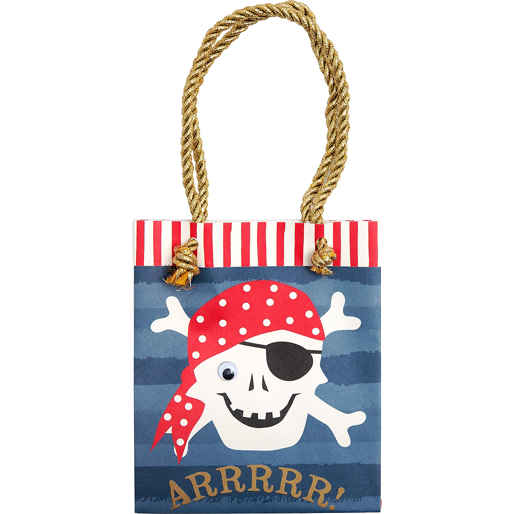 Pirate Favor Bags 8ct Image #1
