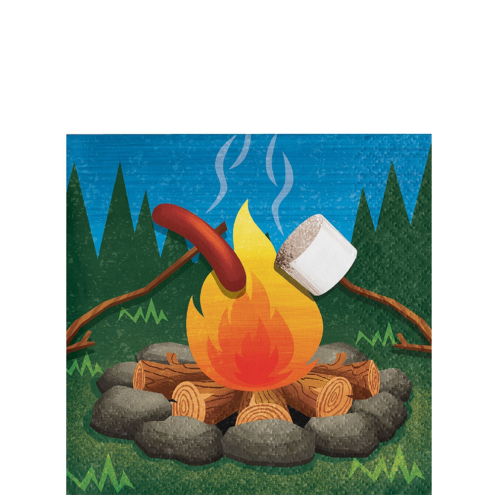 Camping Tableware Party Kit for 16 Guests Image #4