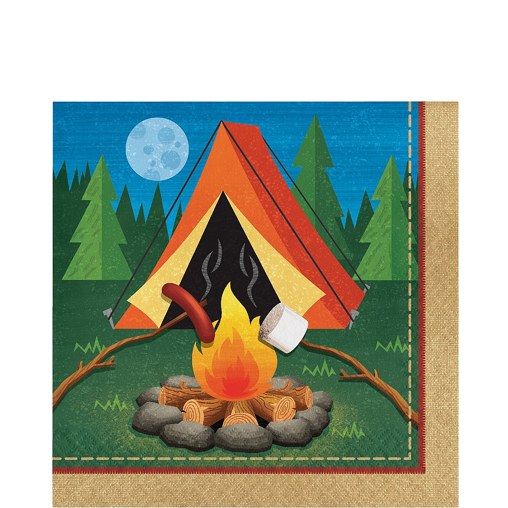 Camping Tableware Party Kit for 16 Guests Image #5