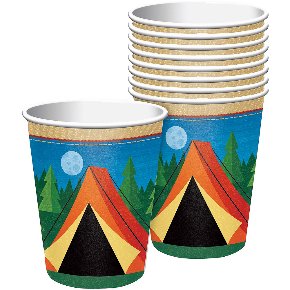 Camping Tableware Party Kit for 16 Guests Image #6