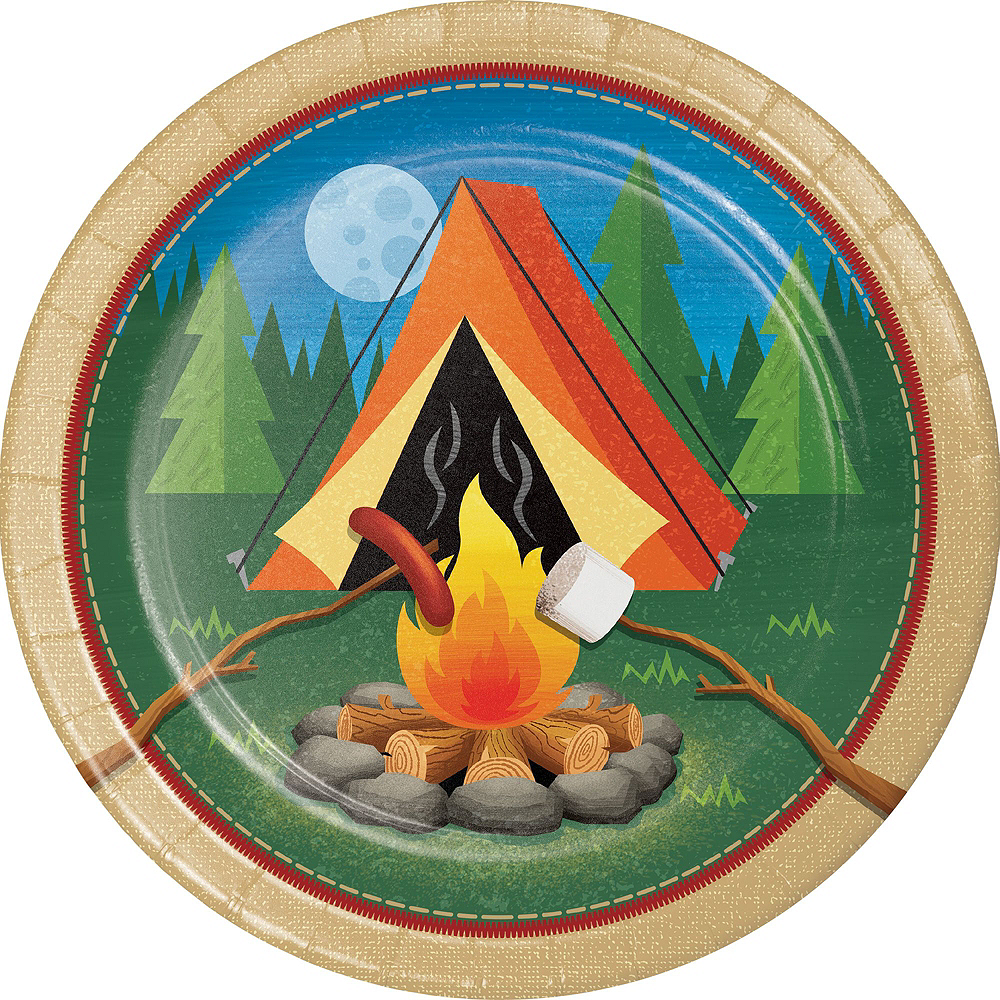 Camping Tableware Party Kit for 24 Guests Image #3