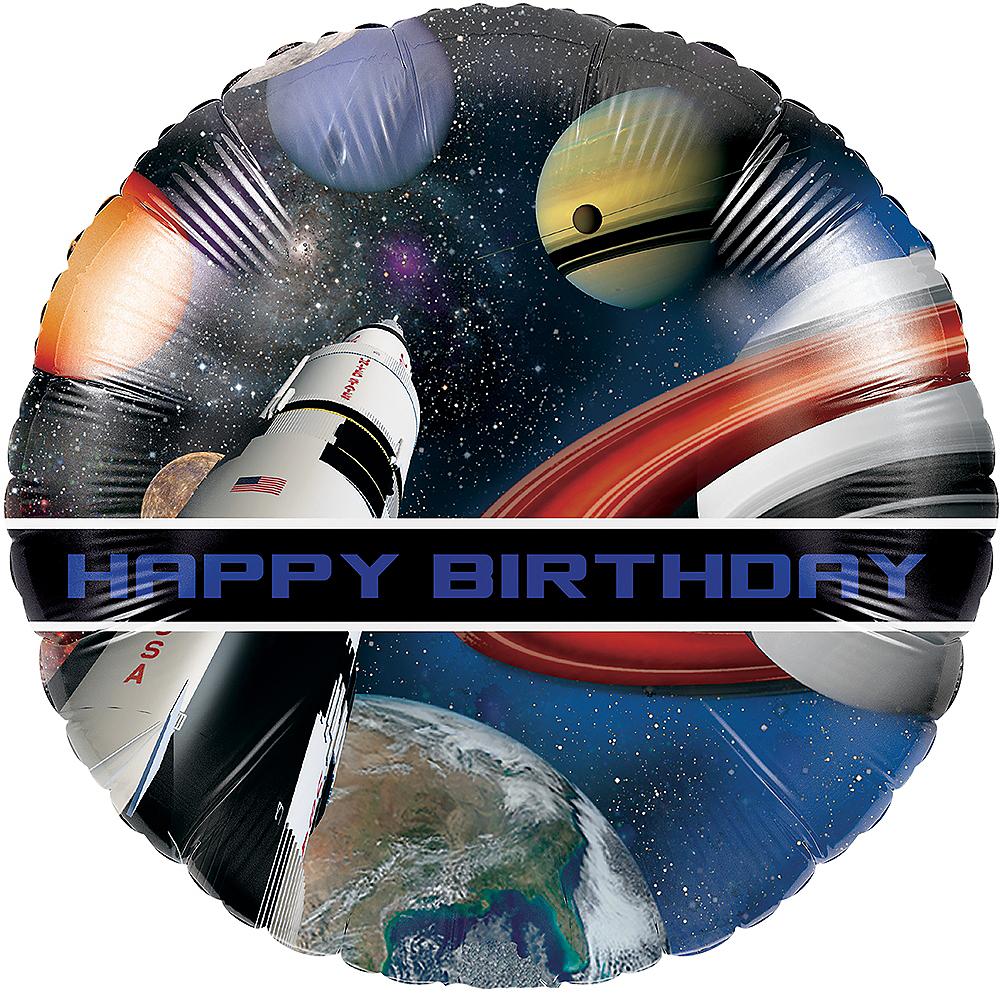 Space Blast Balloon Image #1