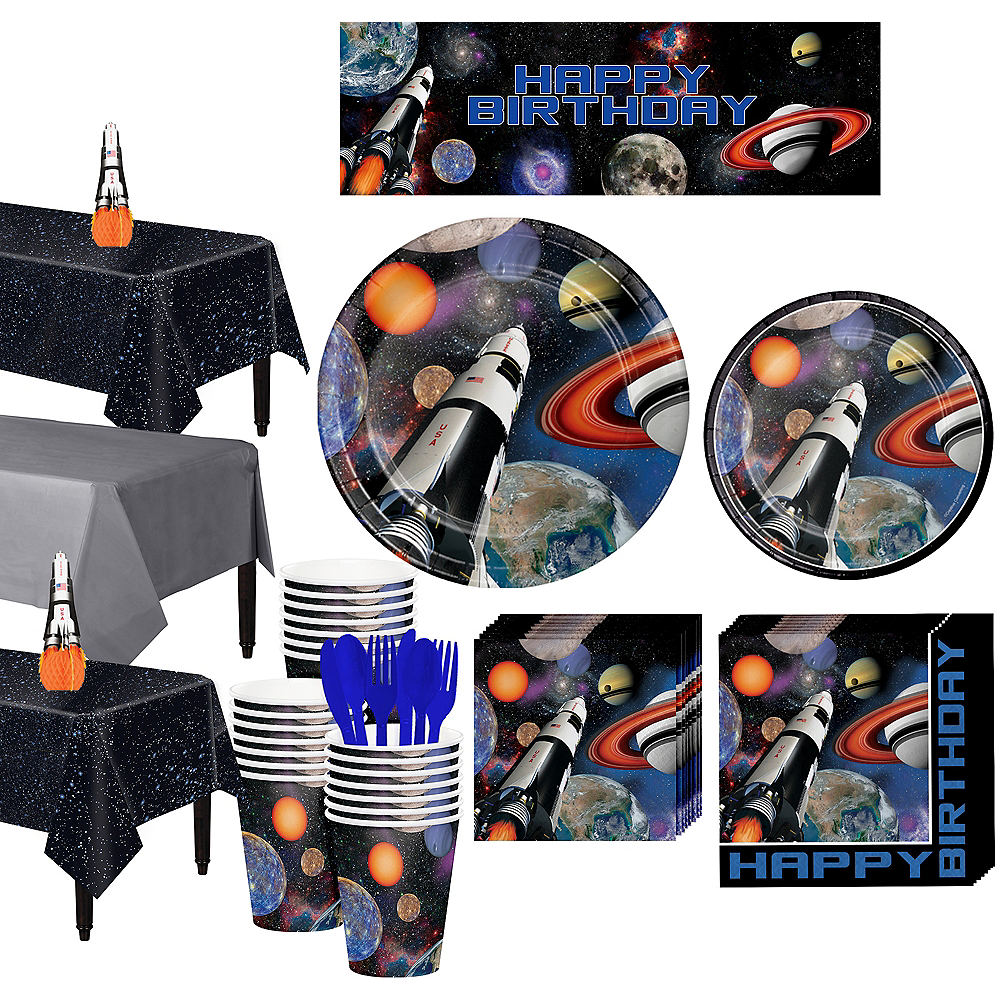Super Space Blast Party Kit for 24 Guests Image #1