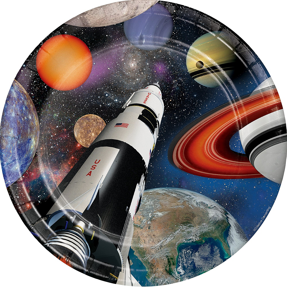 Super Space Blast Party Kit for 24 Guests Image #3