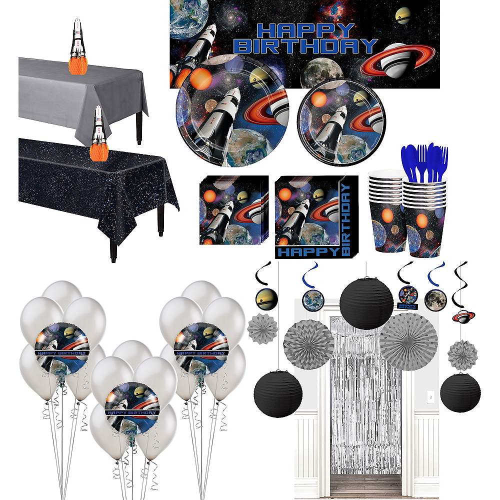 Ultimate Space Blast Party Kit for 16 Guests Image #1