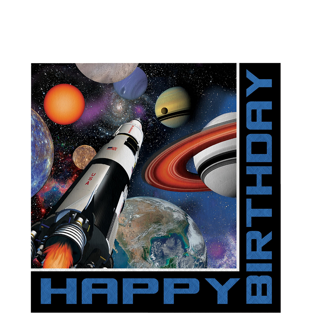 Ultimate Space Blast Party Kit for 16 Guests Image #5