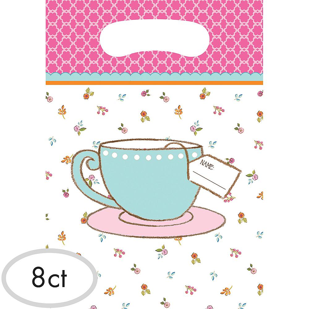 Tea Time Favor Bags 8ct Image #1
