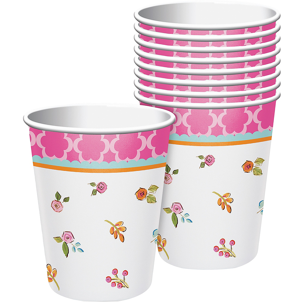 Tea Time Cups 8ct Image #1