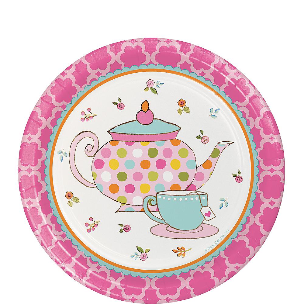 Tea Time Dessert Plates 8ct Image #1