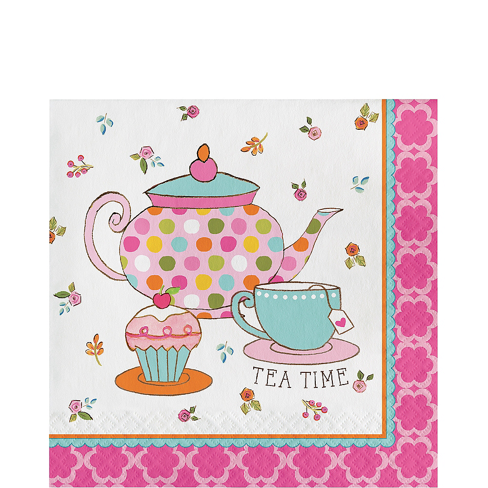 Tea Time Lunch Napkin 16ct Image #1