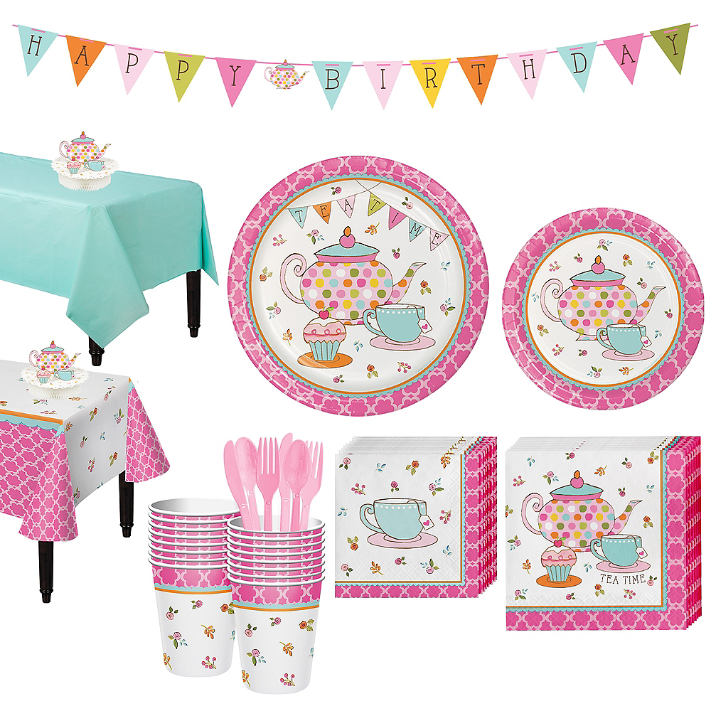 Tea Time Party Kit for 16 Guests Image #1