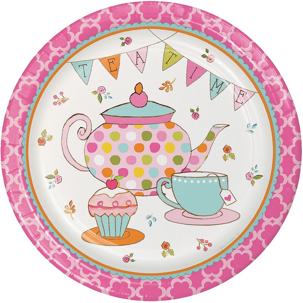 Tea Time Party Kit for 24 Guests Image #3