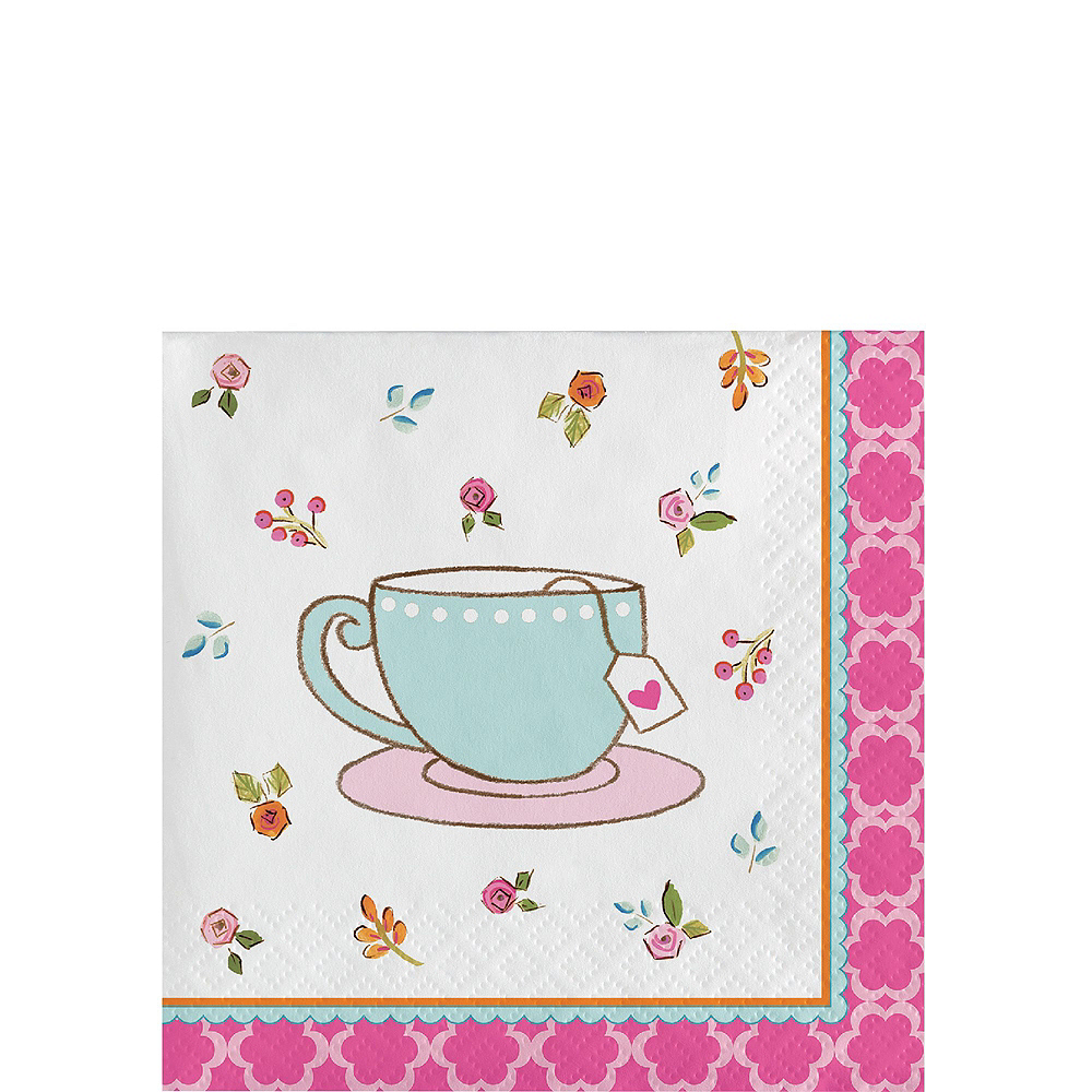 Tea Time Party Kit for 24 Guests Image #4