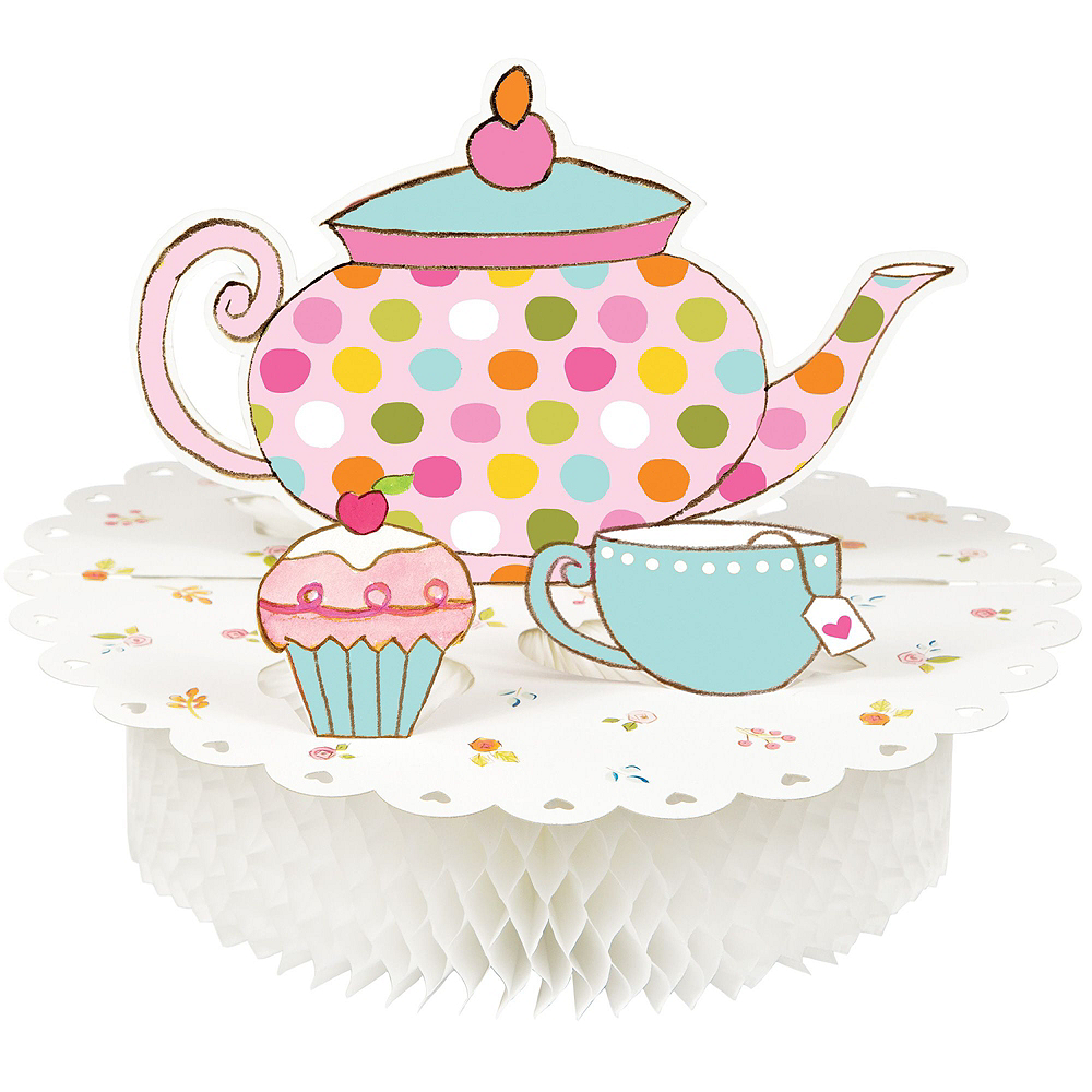 Tea Time Party Kit for 24 Guests Image #10