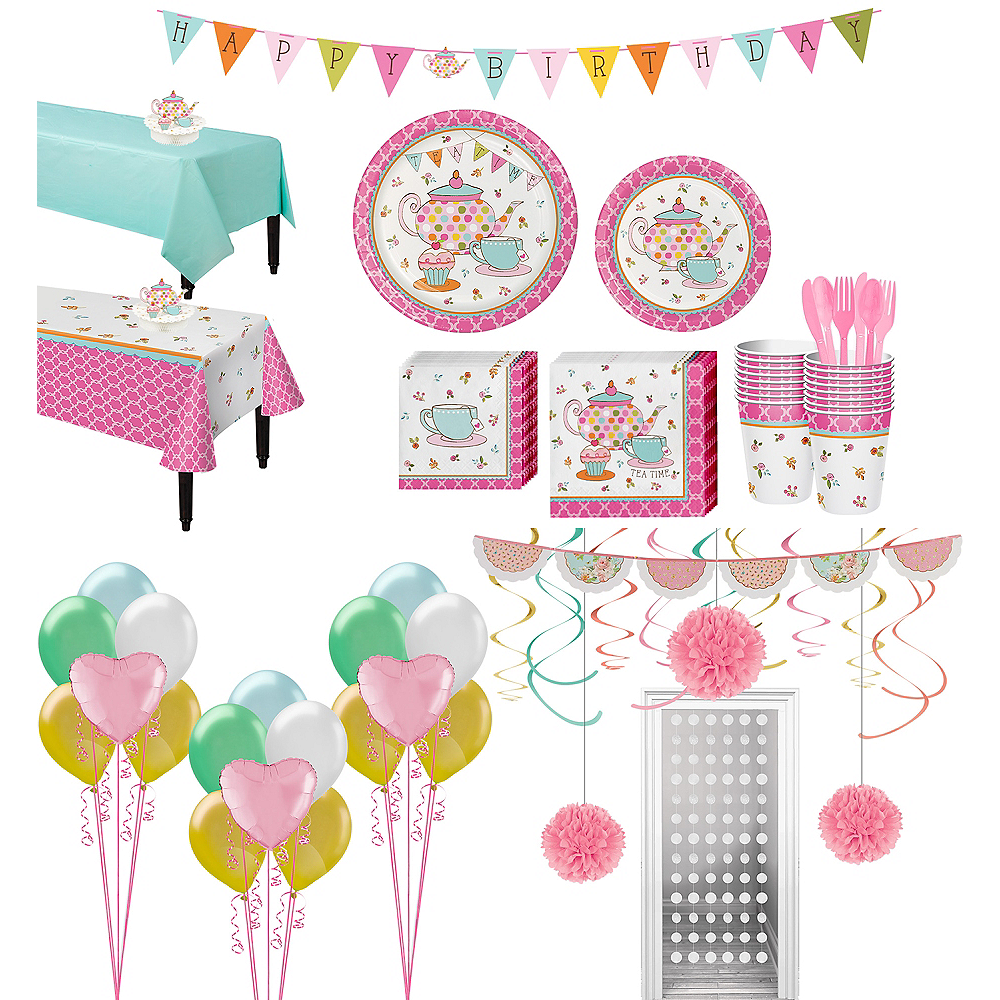 Ultimate Tea Time Party Kit for 16 Guests Image #1