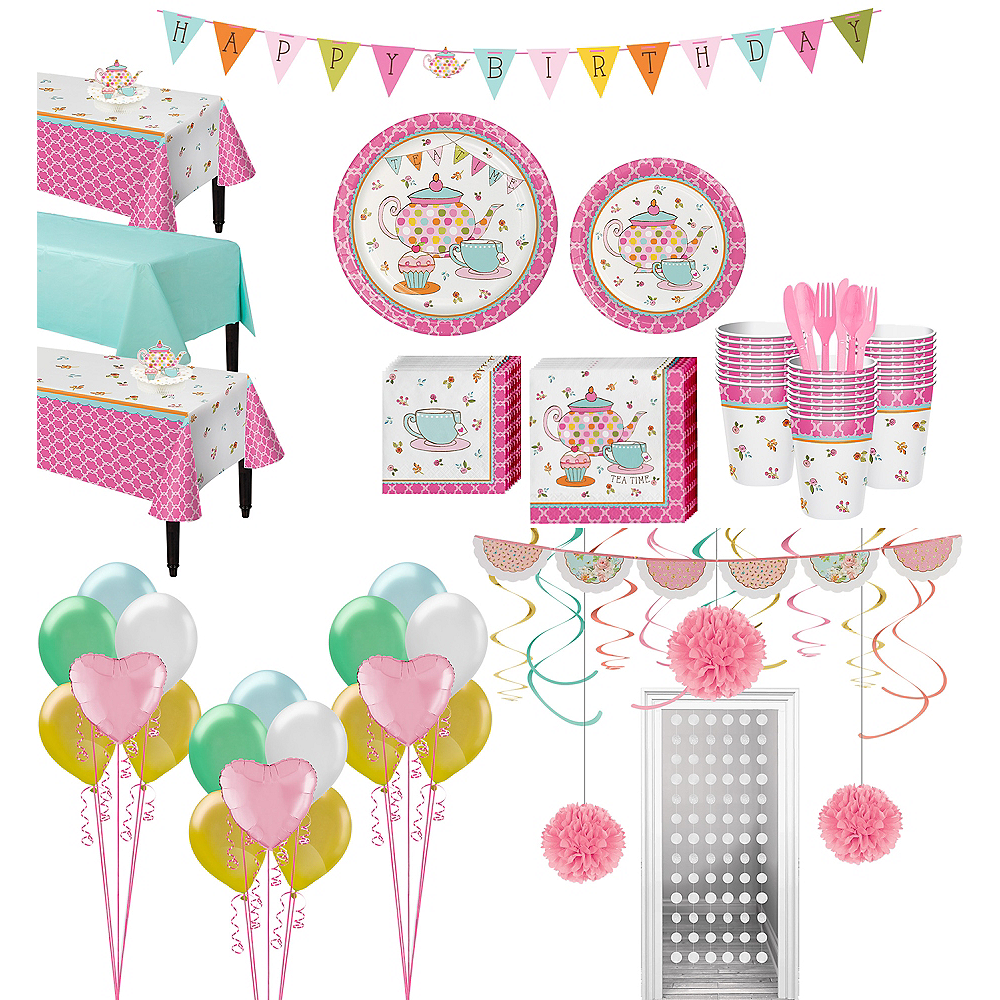 Ultimate Tea Time Party Kit for 24 Guests Image #1