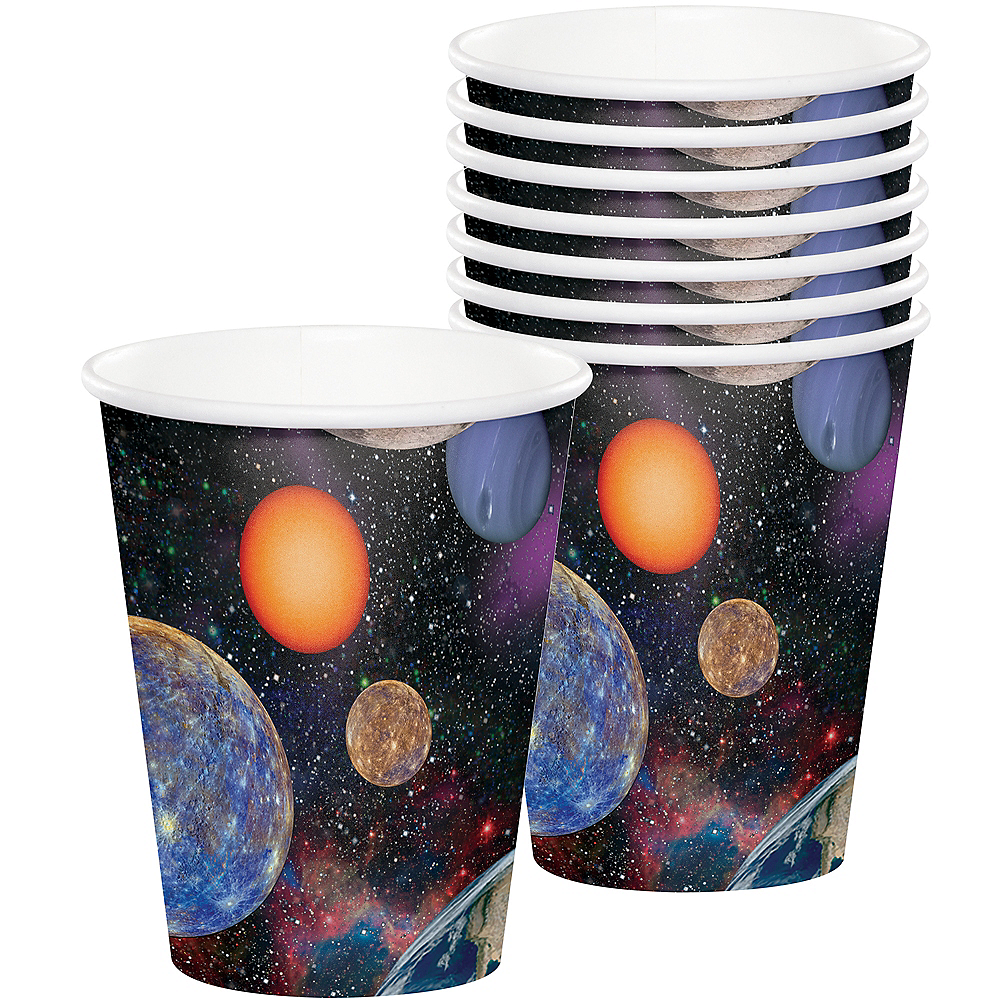 Space Blast Cups 8ct Image #1