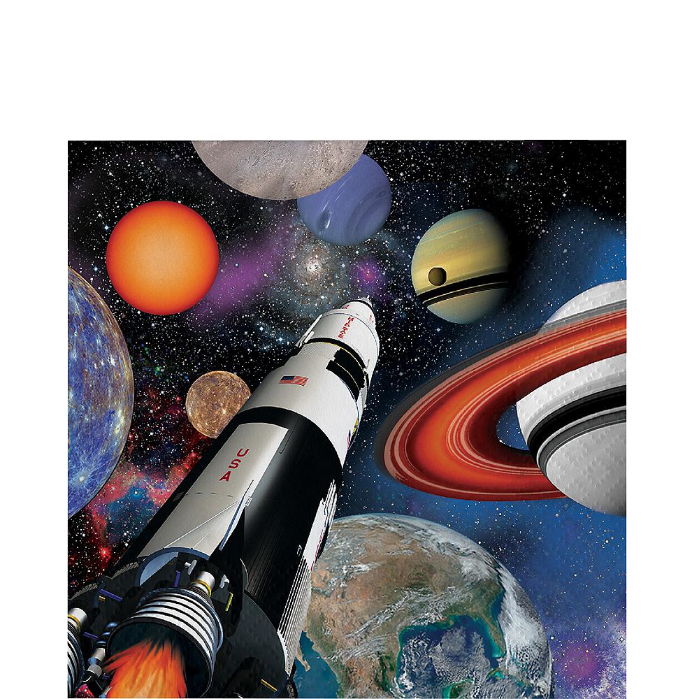 Space Blast Beverage Napkins 16ct Image #1