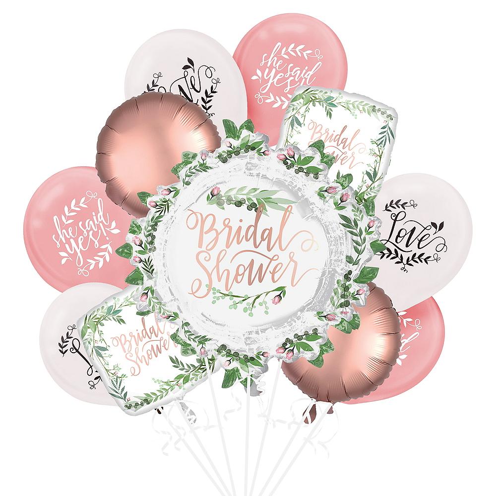 Metallic Floral Greenery Wedding Balloon Kit Image #1