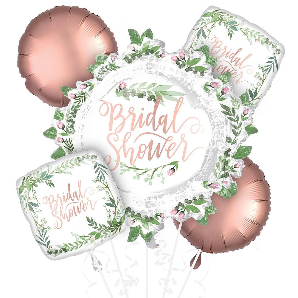 Metallic Floral Greenery Wedding Balloon Kit Image #3