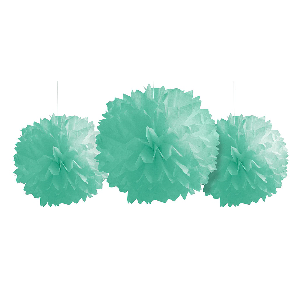 Mint to Be Floral Bridal Shower Decorating Kit Image #3