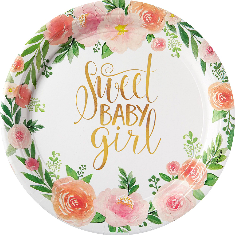 Boho Girl Baby Shower Kit for 16 Guests Image #3