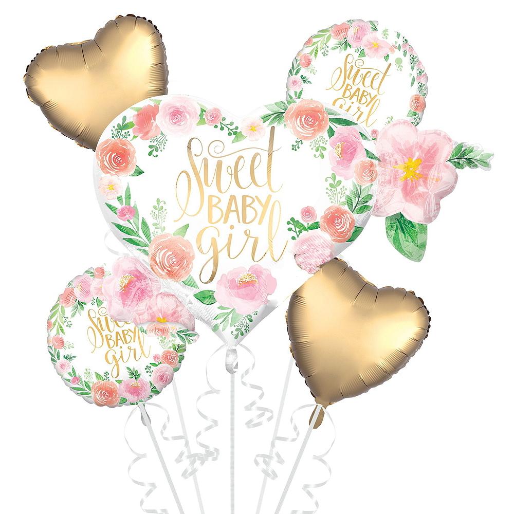 Boho Girl Baby Shower Balloon Kit Image #3