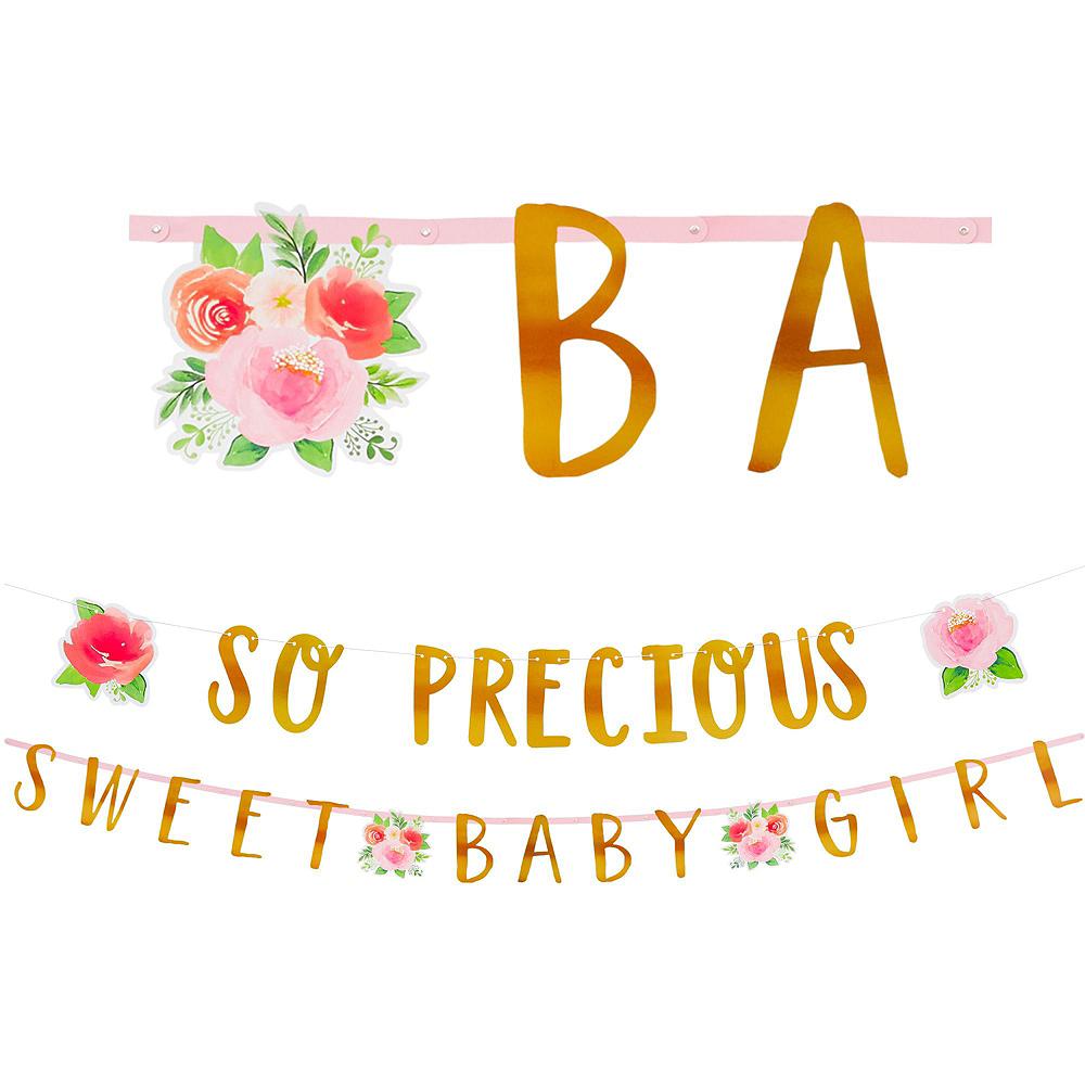 Ultimate Boho Girl Baby Shower Kit for 32 Guests Image #11