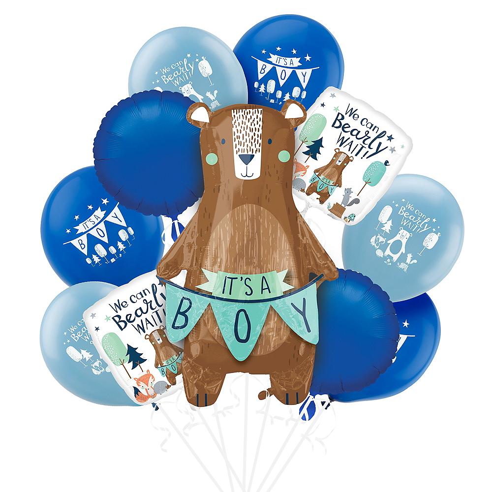 Can Bearly Wait Baby Shower Balloon Kit Image #1