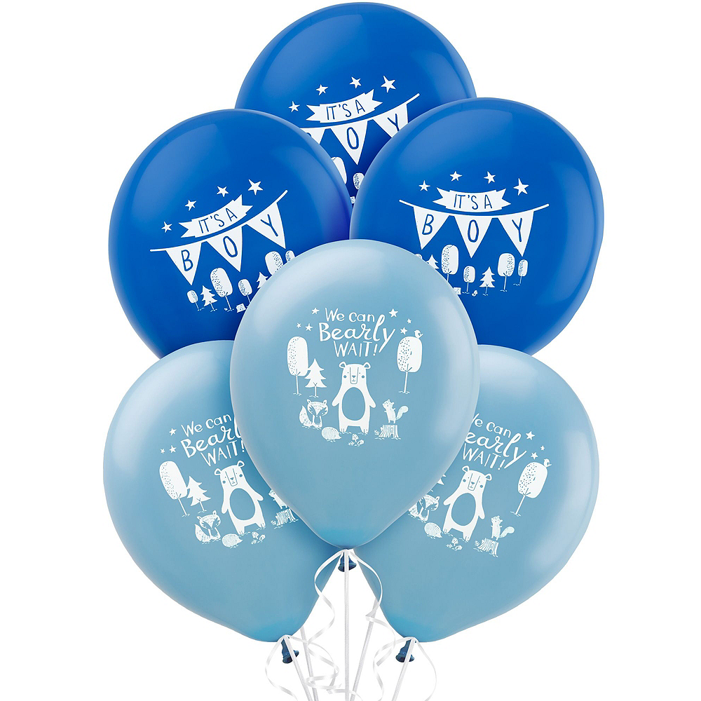 Can Bearly Wait Baby Shower Balloon Kit Image #2