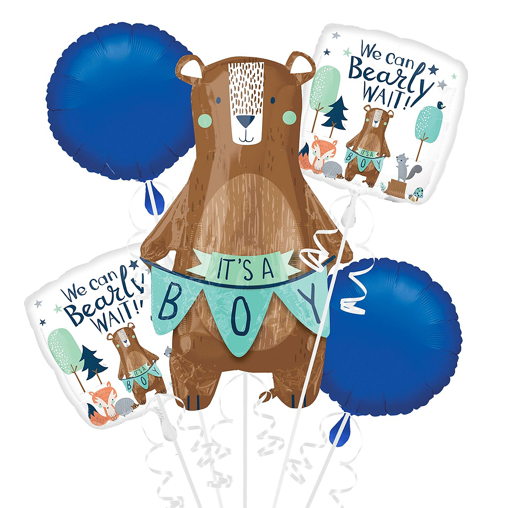 Can Bearly Wait Baby Shower Balloon Kit Image #3