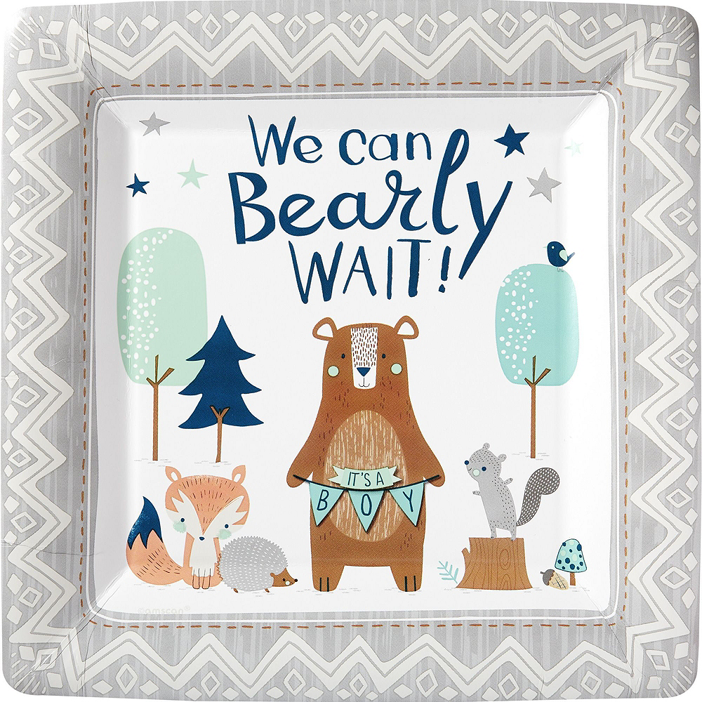 Ultimate Can Bearly Wait Baby Shower Kit for 32 Guests Image #3
