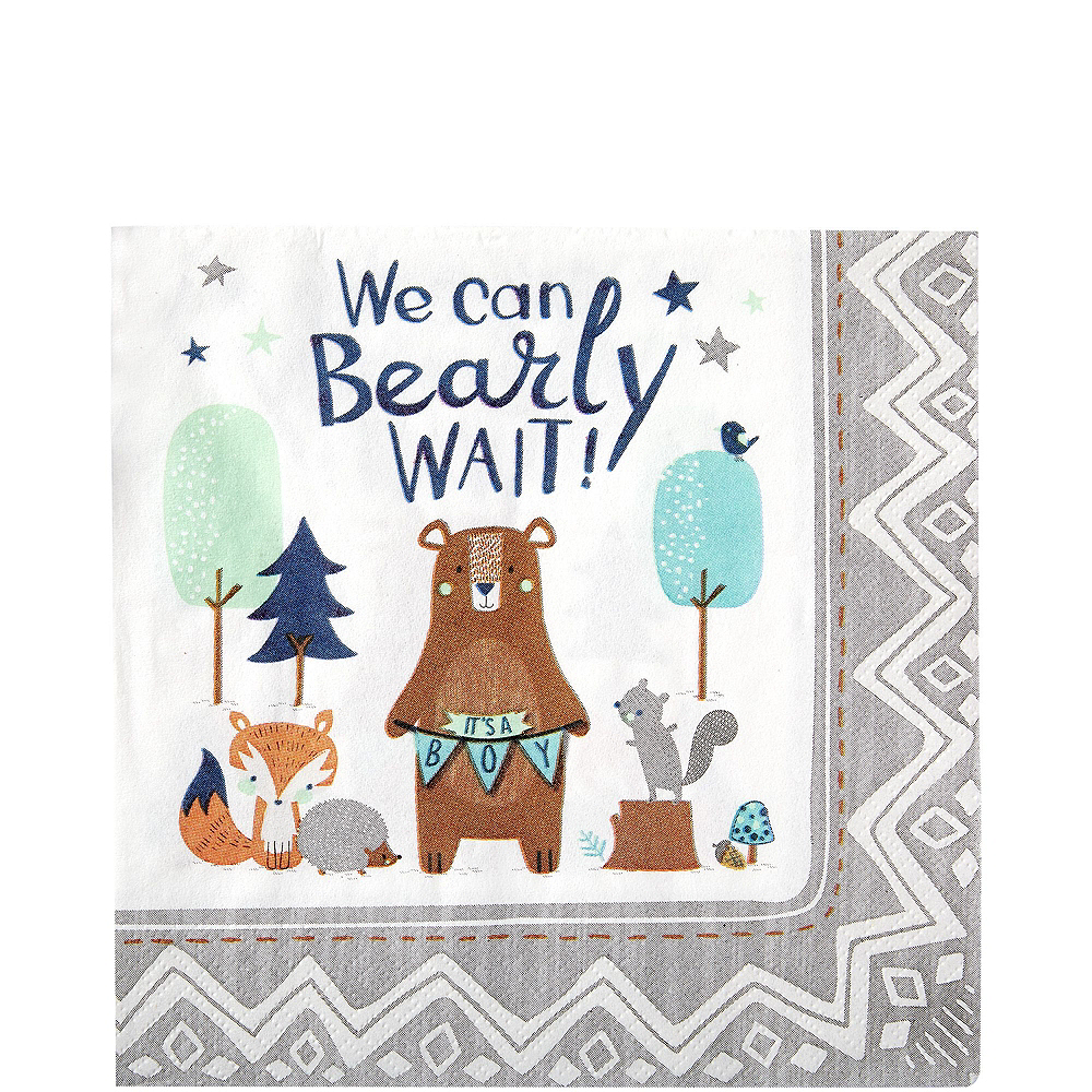 Ultimate Can Bearly Wait Baby Shower Kit for 32 Guests Image #5