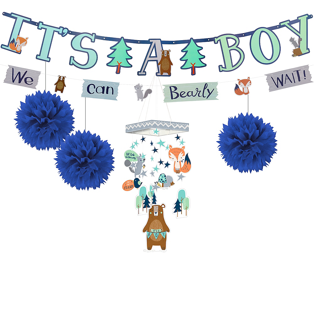 Can Bearly Wait Baby Shower Decorating Kit Image #1