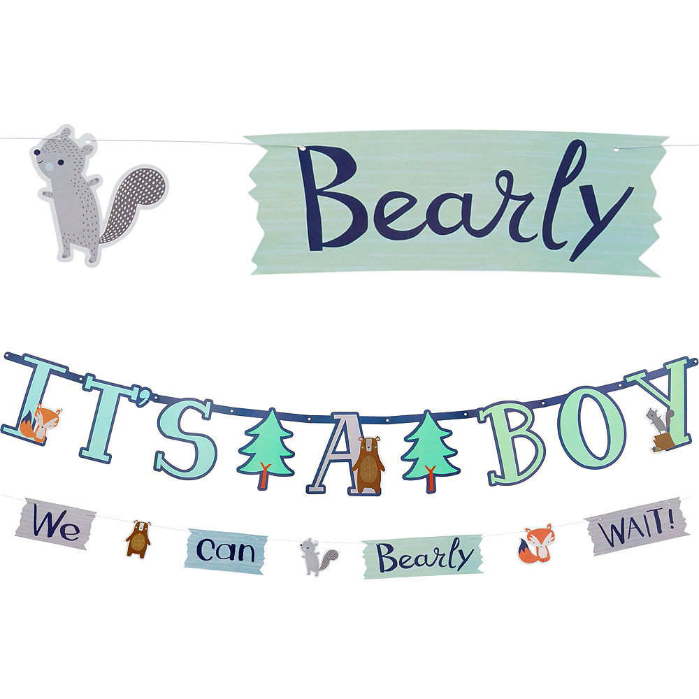 Can Bearly Wait Baby Shower Decorating Kit Image #2