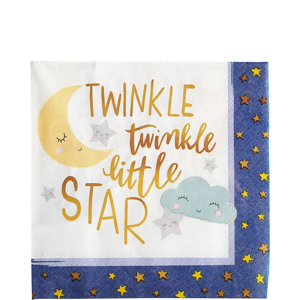 Ultimate Twinkle Twinkle Little Star Baby Shower Kit for 32 Guests Image #5