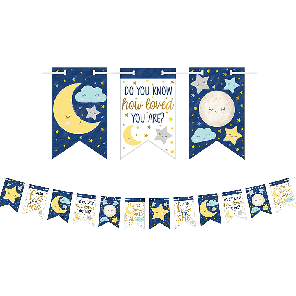 Ultimate Twinkle Twinkle Little Star Baby Shower Kit for 32 Guests Image #11