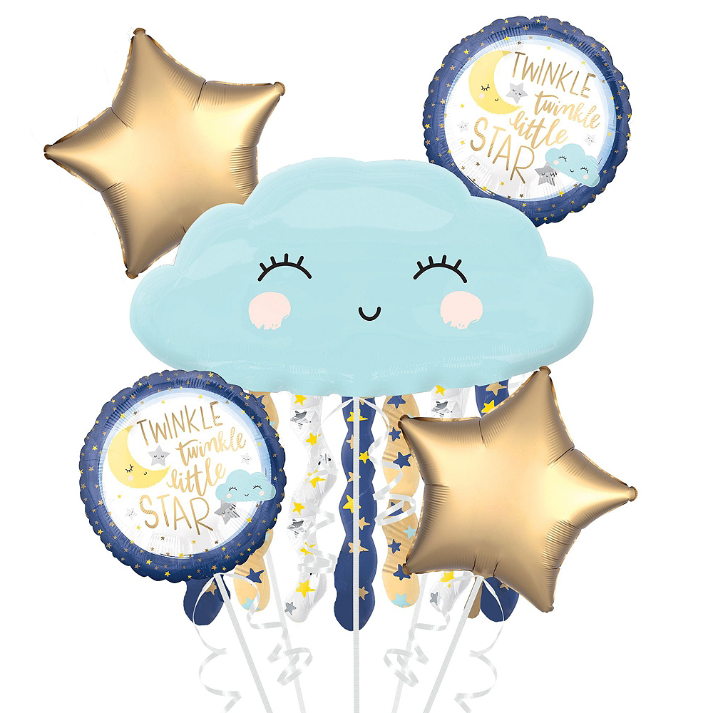 Ultimate Twinkle Twinkle Little Star Baby Shower Kit for 32 Guests Image #12
