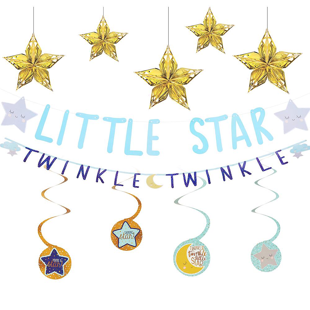 Twinkle Twinkle Little Star Baby Shower Decorating Kit