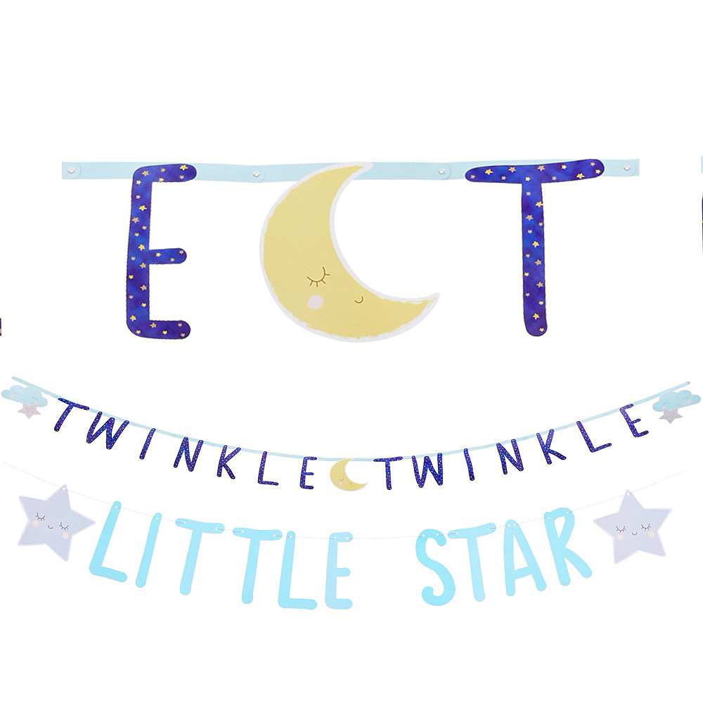 Twinkle Twinkle Little Star Baby Shower Decorating Kit Image #2