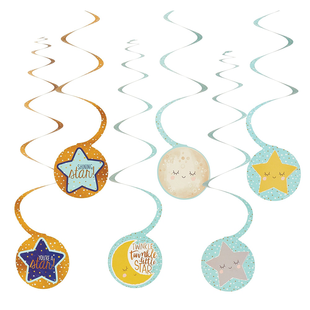 Twinkle Twinkle Little Star Baby Shower Decorating Kit Image #4