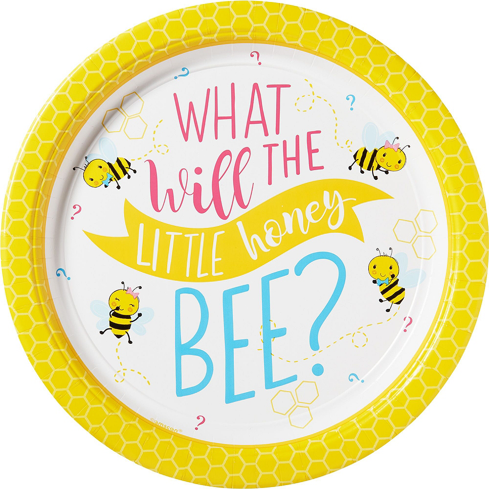 Little Honey Bee Gender Reveal Party Kit for 16 Guests Image #8