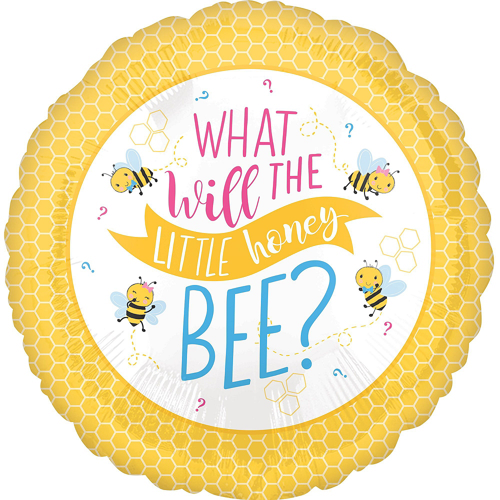 Little Honey Bee Gender Reveal Party Balloon Kit Image #3