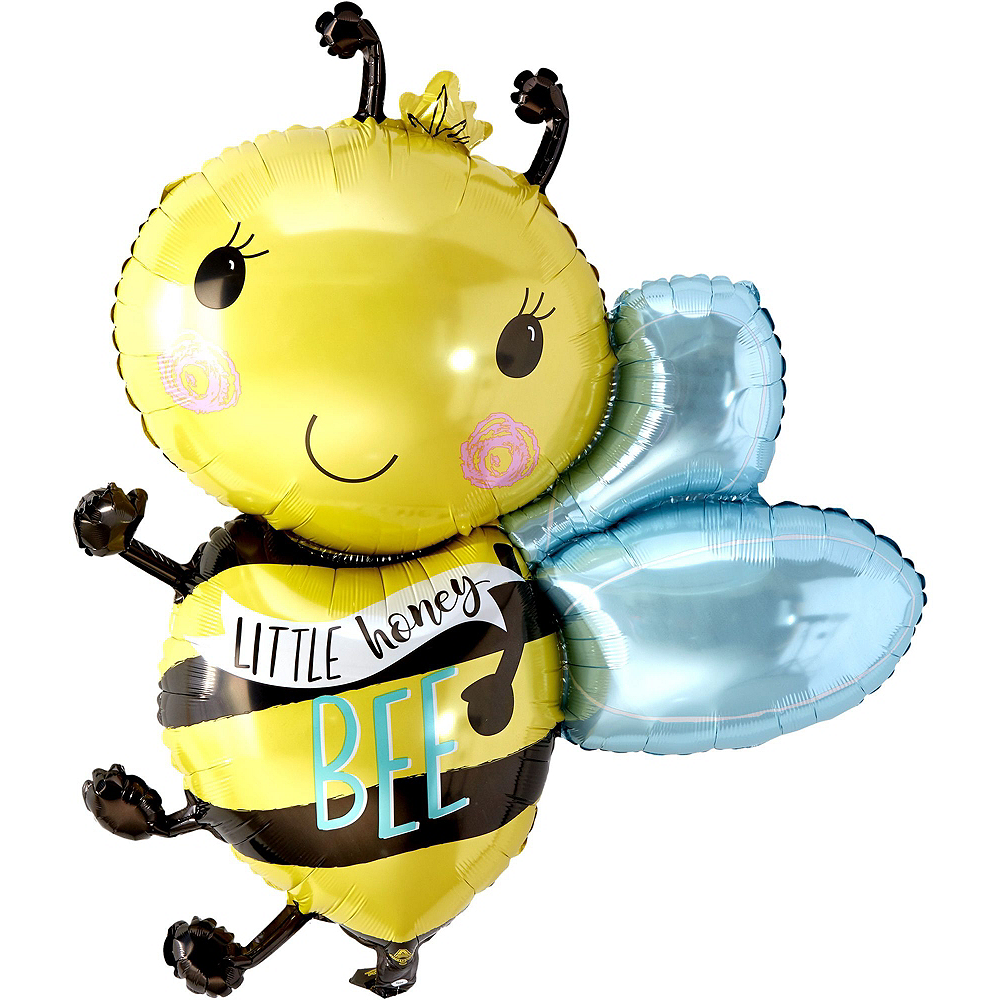 Little Honey Bee Gender Reveal Party Balloon Kit Image #4